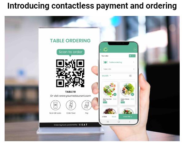 UEAT Contactless Online Ordering